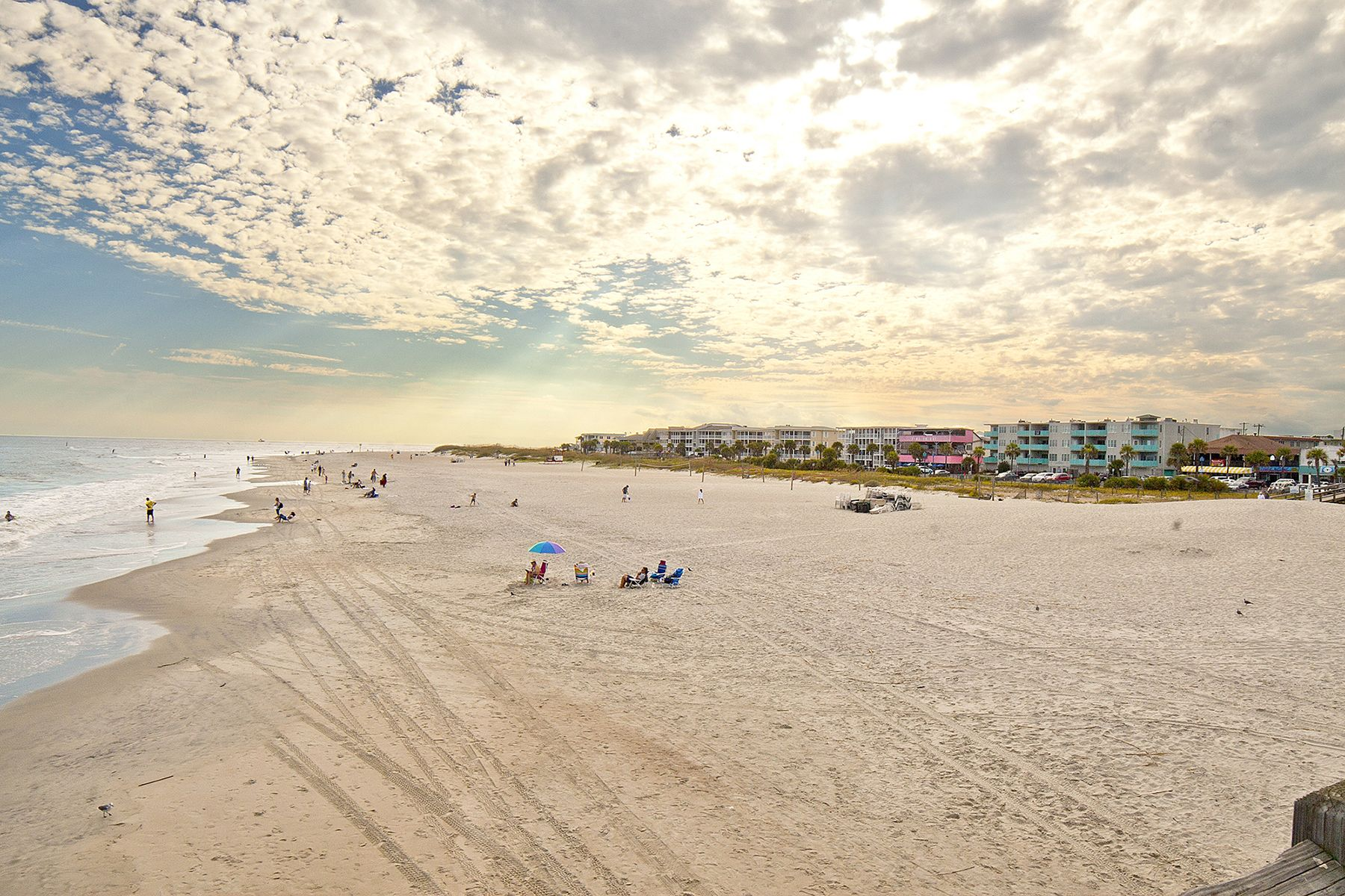 Tybee Island Also Known As Savannah Beach Is An Easily Accessible Barrier Located Just 18 Miles Away From