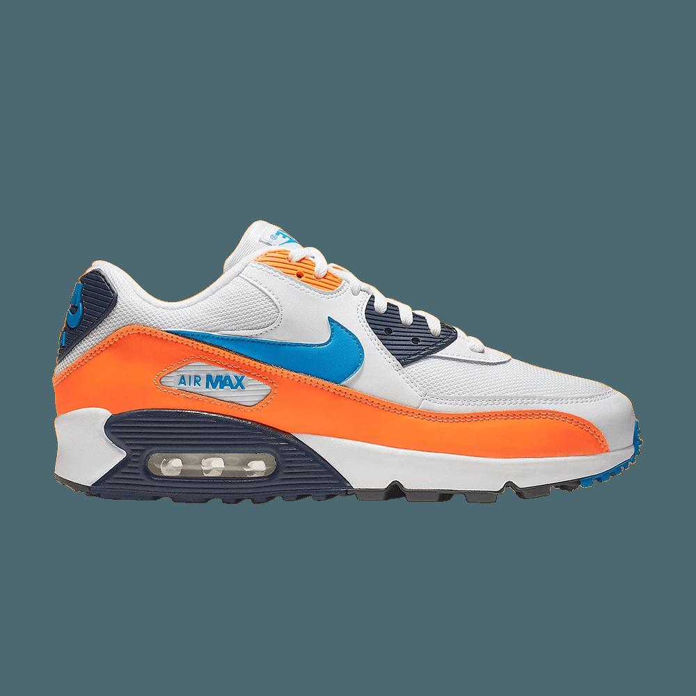 air max oranje blauw