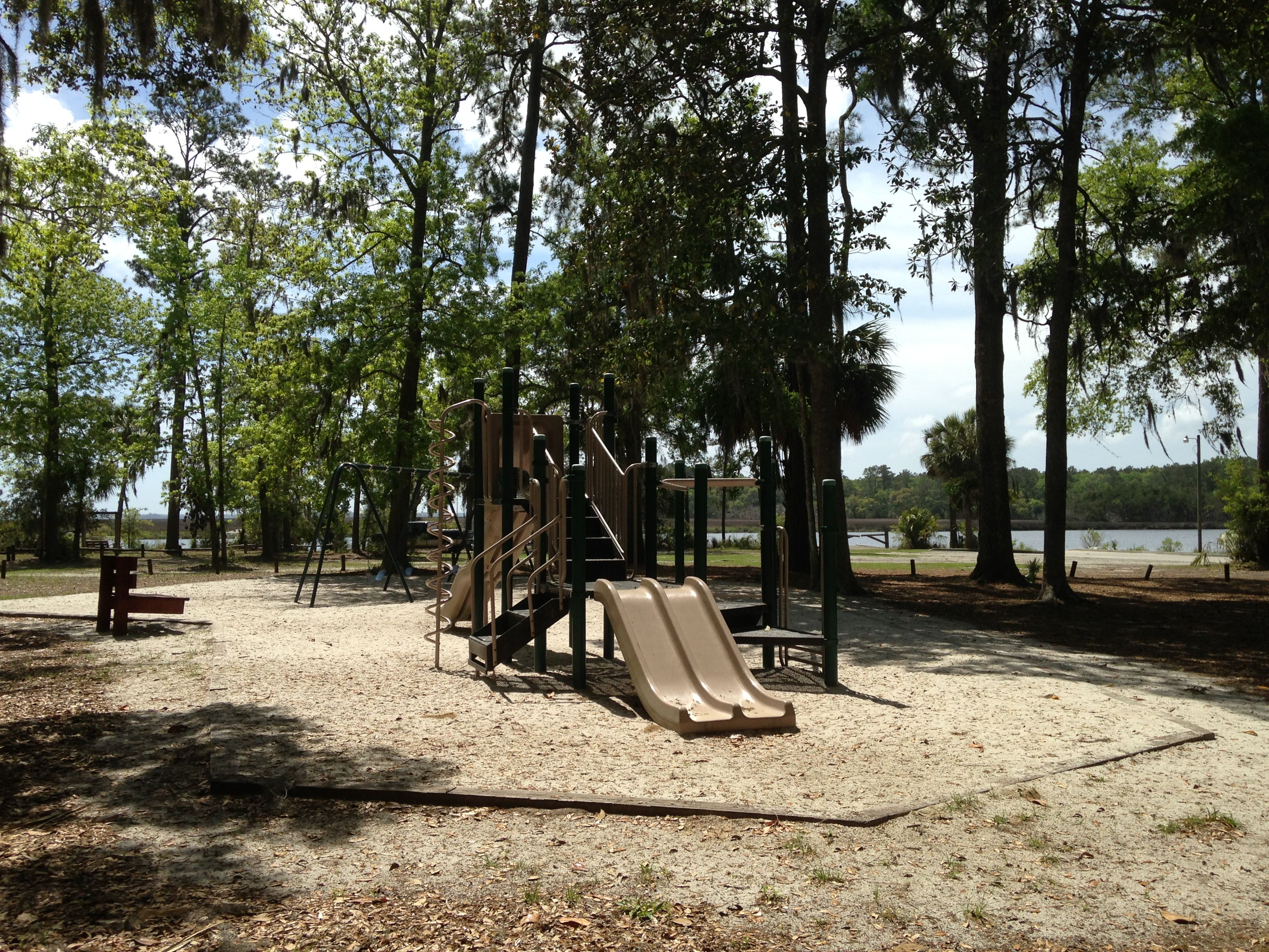 Savage Island campground playground.
