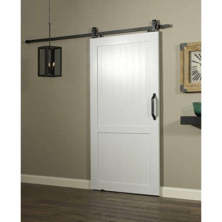 Millbrooke Pvc Barn Door White Products In 2019 Doors Interior