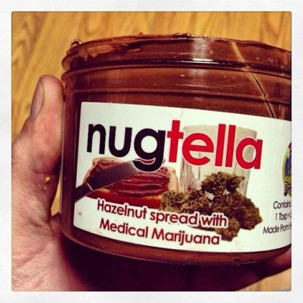 Weed Infused Nutella Made By A San Jose Medical Marijuana Dispensary