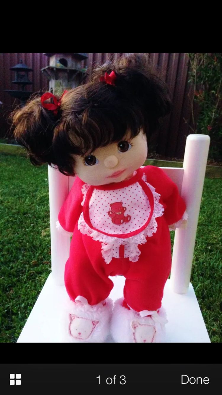 My child doll...My new little girl! Got her in the mail today!!
