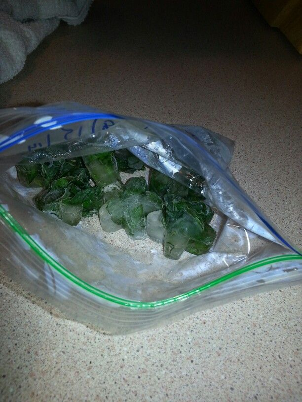 Herb ice cubes-freeze fresh chopped herbs for winter.-basil,oregano,mint,parsley,cilantro,dill