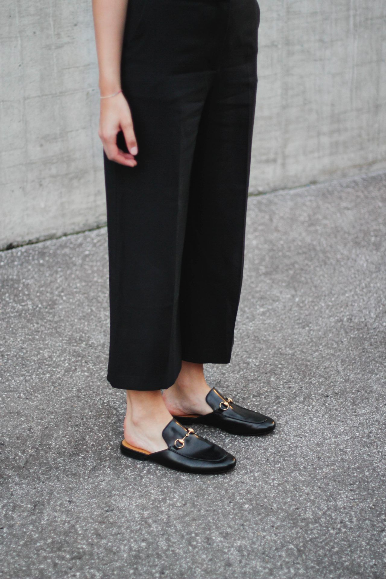 tifmys – Zara culottes & Gucci Princetown slippers. | tifmys ...