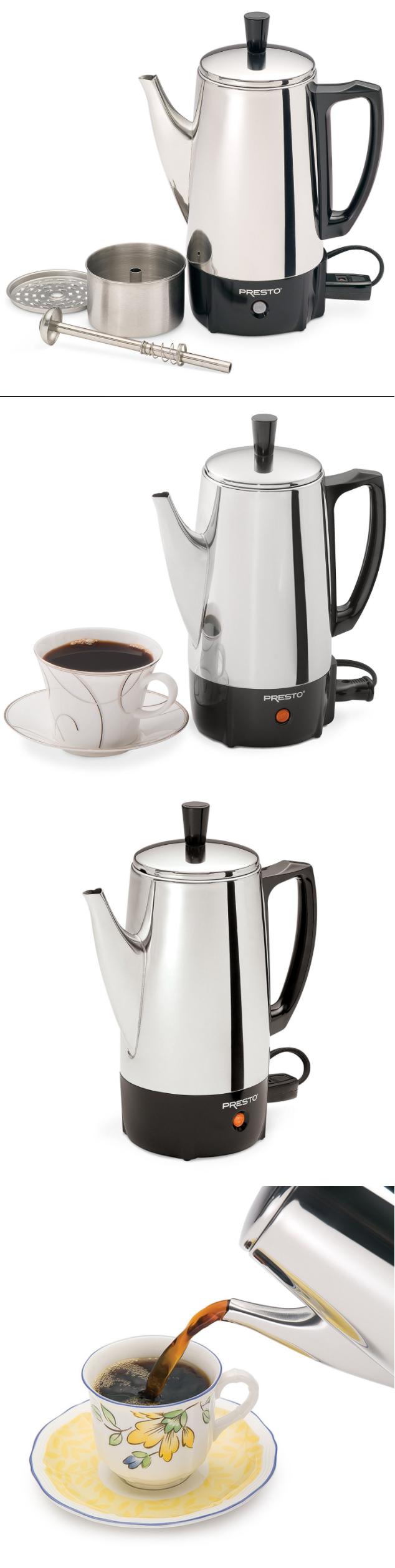 Percolators and moka pots percolating coffee pot electric