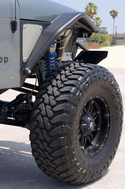 Jeep Wrangler Yj Custom No Reserve For Sale Long Beach California
