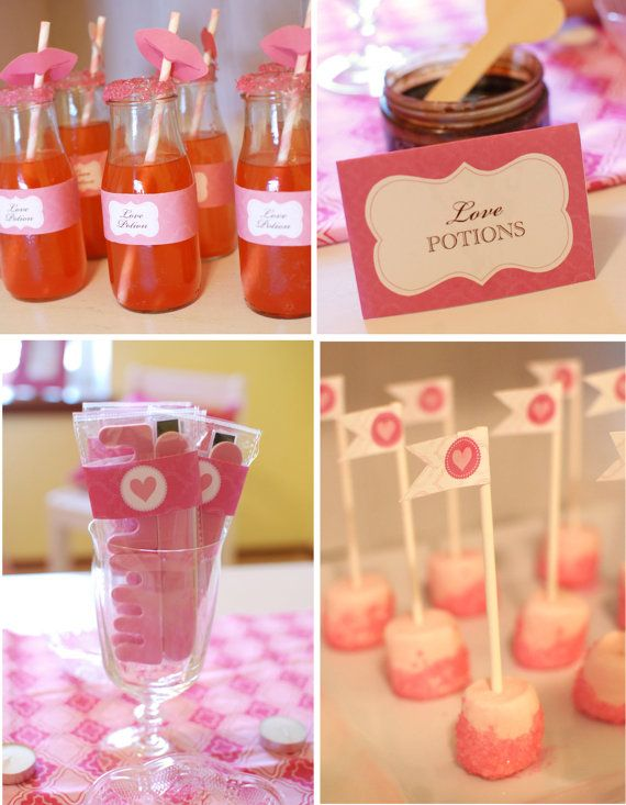 Love Spa Printable Party Collection by Itsy Belle by ItsyBelle, 25.00 Valentine's Day