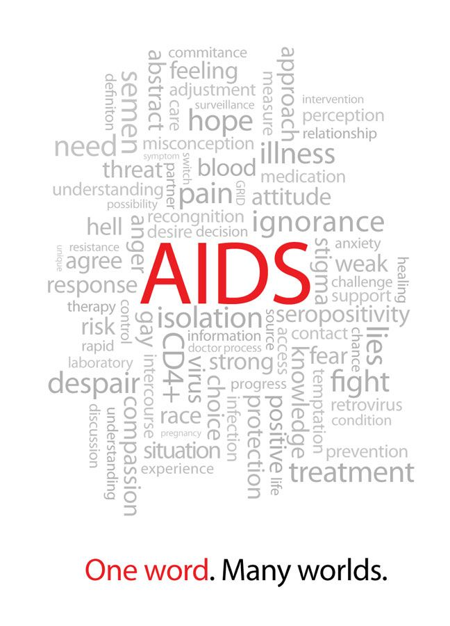 what do the terms hiv and aids actually mean