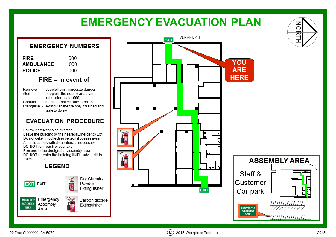 Workplace Safety Plan Worksheet
