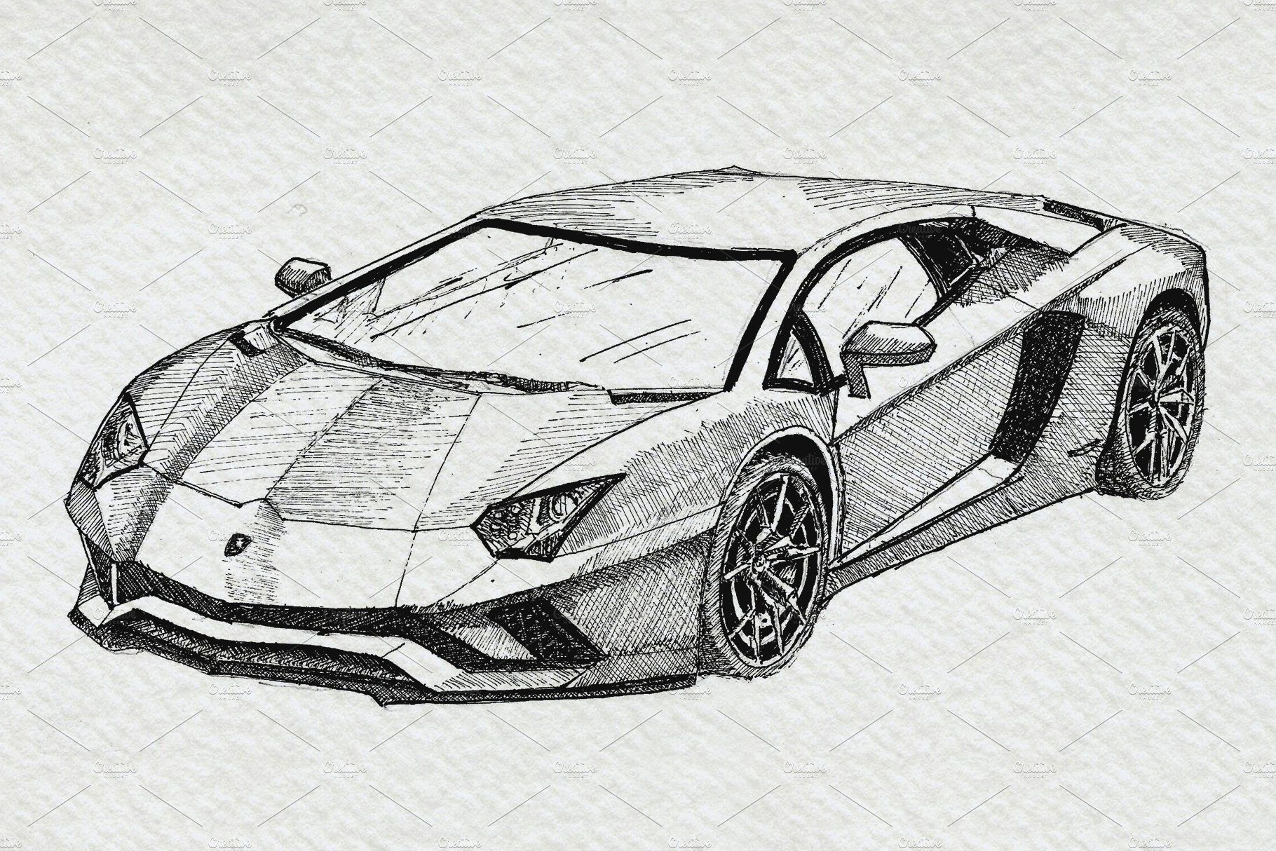 Supercars Sports Car Clipart Pack Super Cars Cool Car Drawings Car Drawings