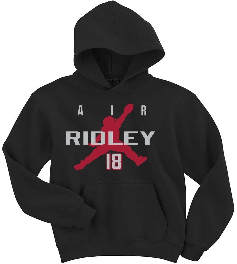 Calvin Ridley Atlanta Falcons Air Hooded Sweatshirt In 2020 Hooded Sweatshirts Atlanta Falcons Shirts Hooded Shirt