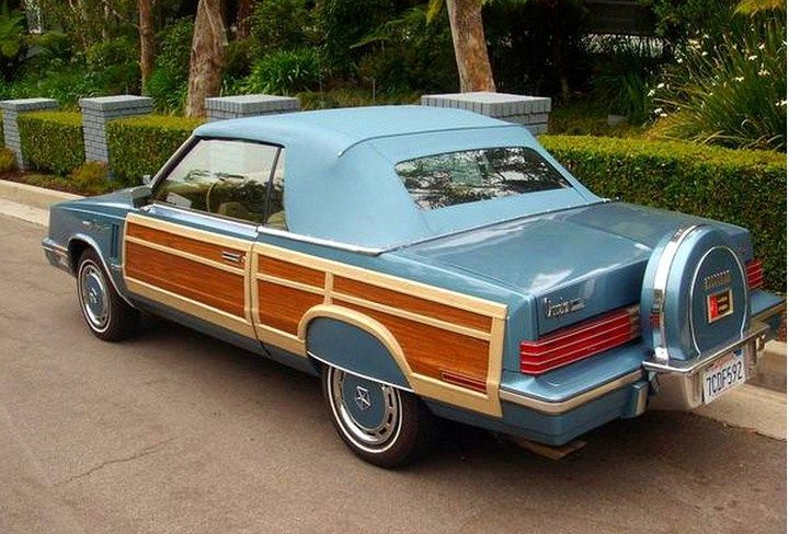 1985 Chrysler Lebaron Town Country Convertible With Images