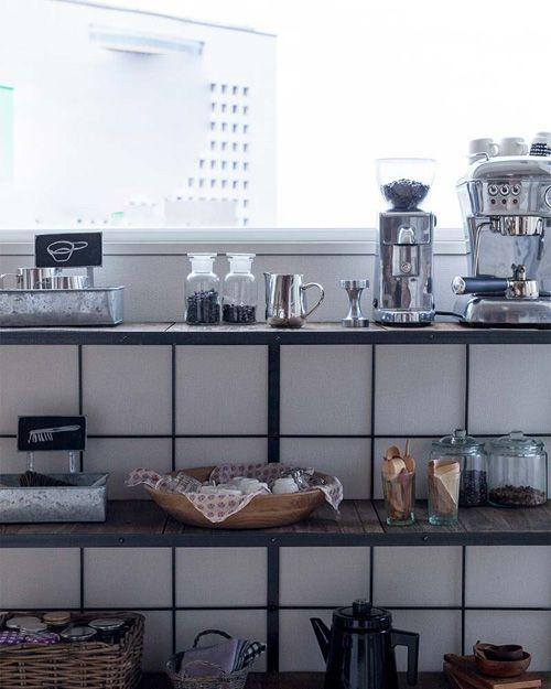 open kitchen shelves * offene küchenregale