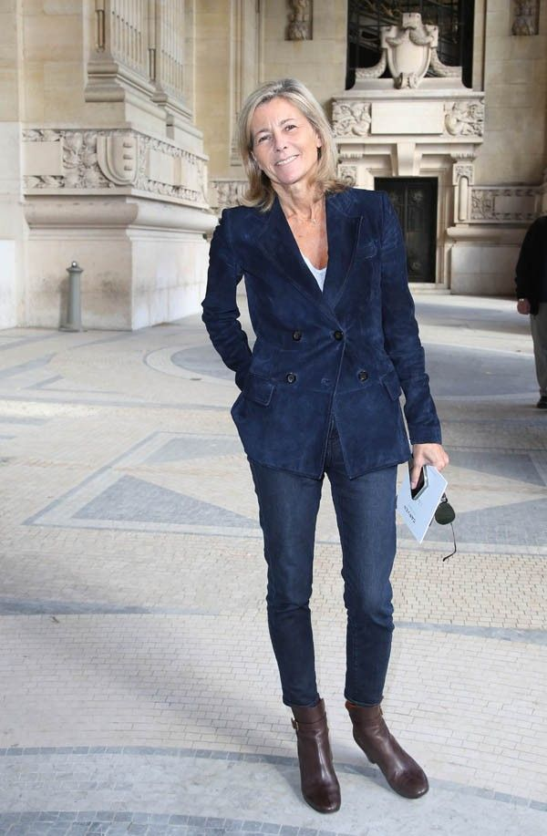 claire chazal claire chazal pinterest claire chazal chazal et mode femme. Black Bedroom Furniture Sets. Home Design Ideas