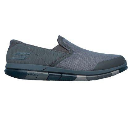 Men S Goflex Walk Slip On Sneaker Slip On Sneakers Skechers
