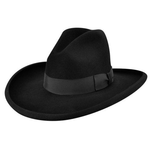 Bailey Western Clayton Gus Crown Cowboy Hat Pecan Black 7 3 8 At Amazon Men S Clothing Store Cowboy Hats Western Hats Cowboy Hats Bailey Hats