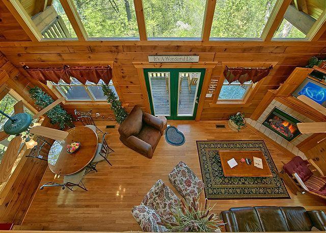 American Dream 142 | 1 Bedroom Cabins | Pigeon Forge Cabins | Gatlinburg  Cabins