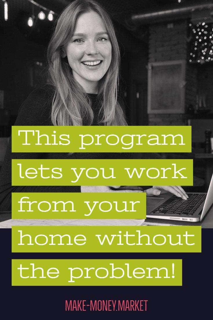 Mit diesem Programm können Sie problemlos von zu Hause aus arbeiten!   – Make Money Market | Blog