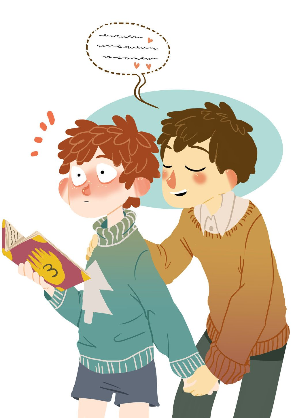 A Doubtful Whisper - Dipper and Wirt by Avril-Circus ...