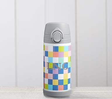 Mackenzie Bright Pixels Regular Water Bottle Water