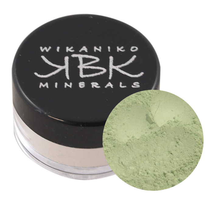 Green Corrector Powder A pale green corrector to reduce