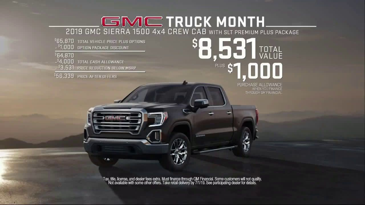 Gmc Truck Month Jaw Drop Song By Steam Ad Commercial On Tv 2019 Gmc Truck Gmc Trucks