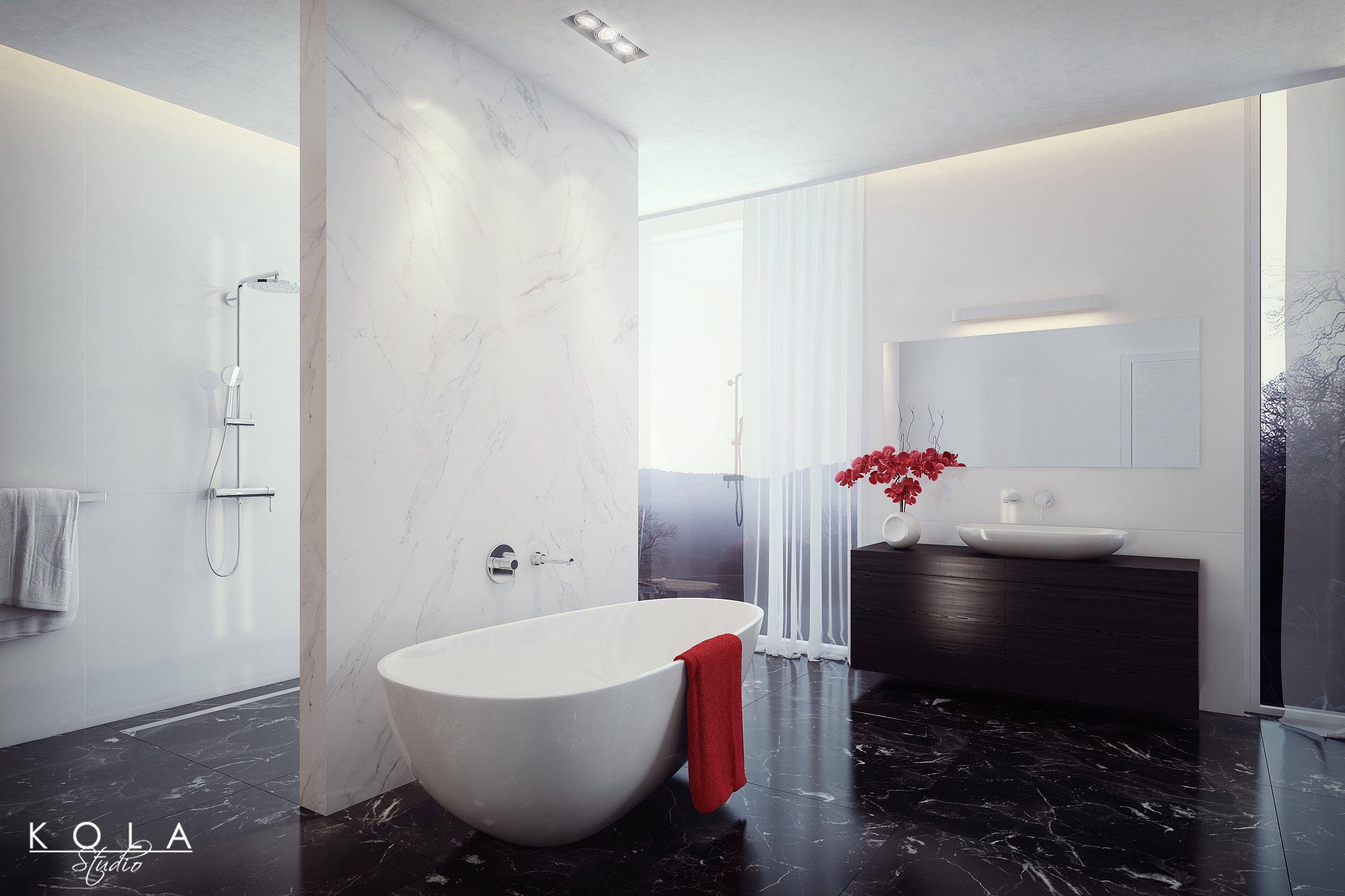 Alaior Bathroom for Teka. Visualization of a showeroom with Teka ...