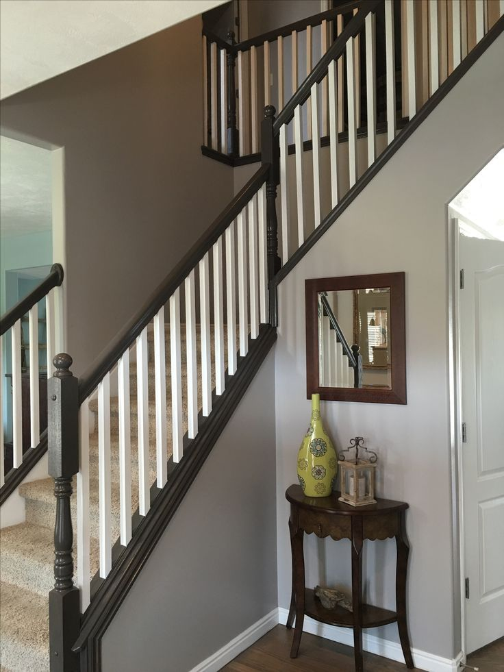 Elegant Beautiful Painted Staircase Ideas For Your Home Design Inspiration