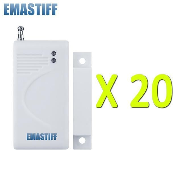 White 10 20 50 100 Pcs Wireless Door Magnetic Sensor High Quality