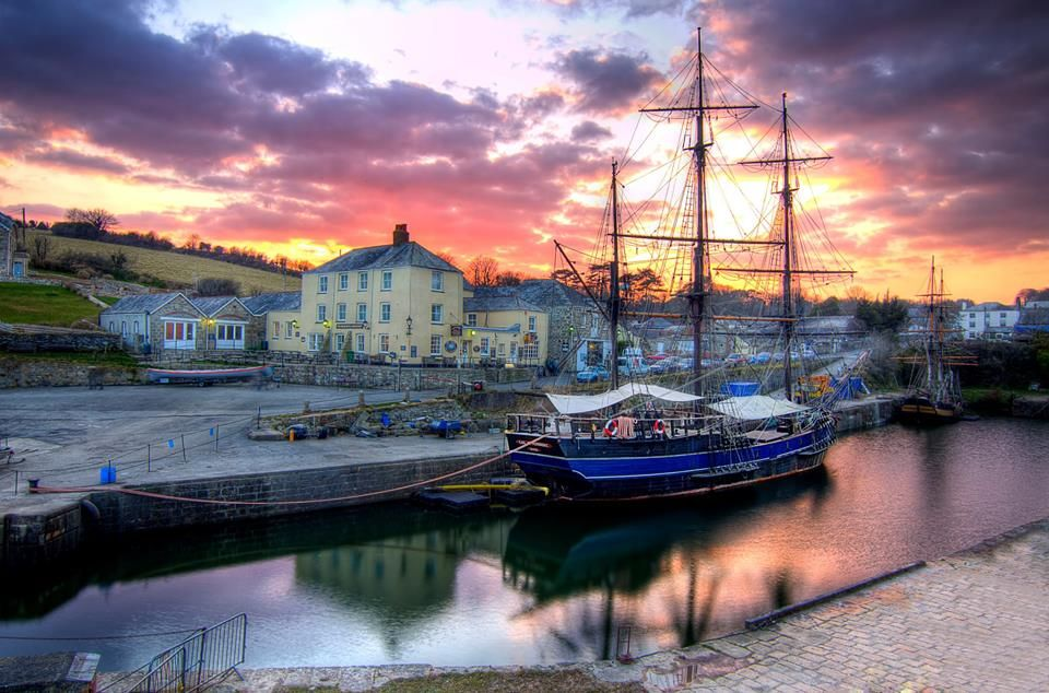 A Beautiful Photo Taken At Charlestown Harbour On Cornwall S South Coast By Stokeparker View Some Of The Best Holiday Accommodation In