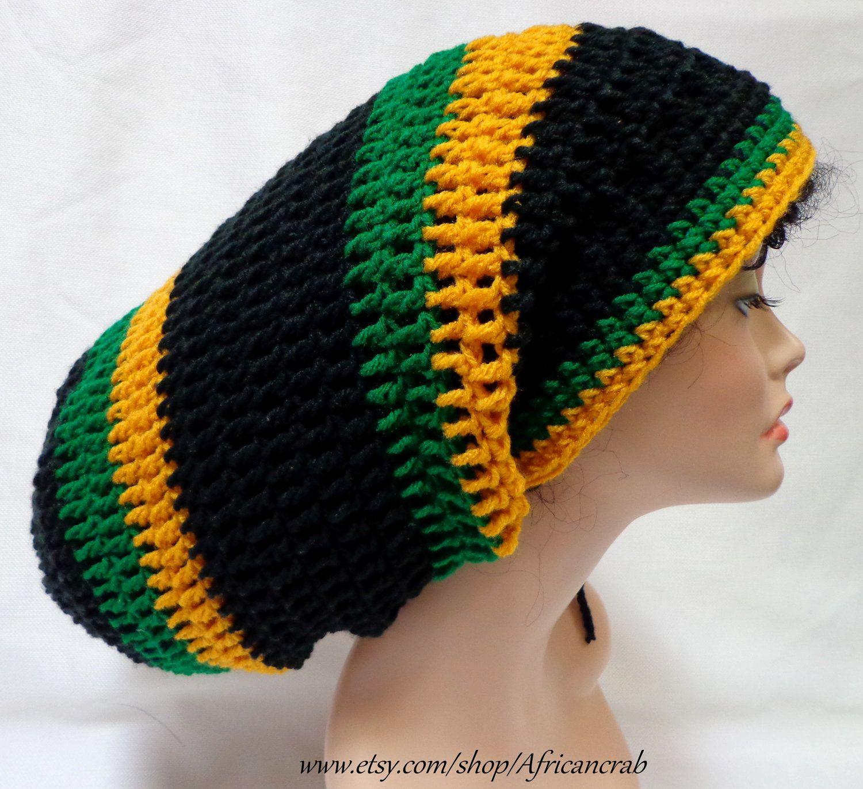 African crochet hats unisex dreadlocks hat extra large crochet african crochet hats unisex dreadlocks hat extra large crochet tam rasta hat bankloansurffo Image collections