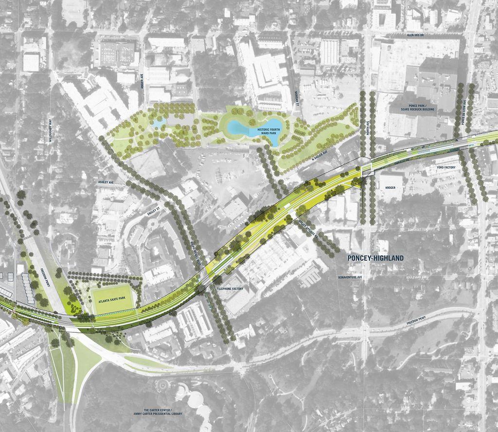 Atlanta S Premiere Landscape Architect: Unused Urban Spaces As Assets. An Abandoned Rail Line Can