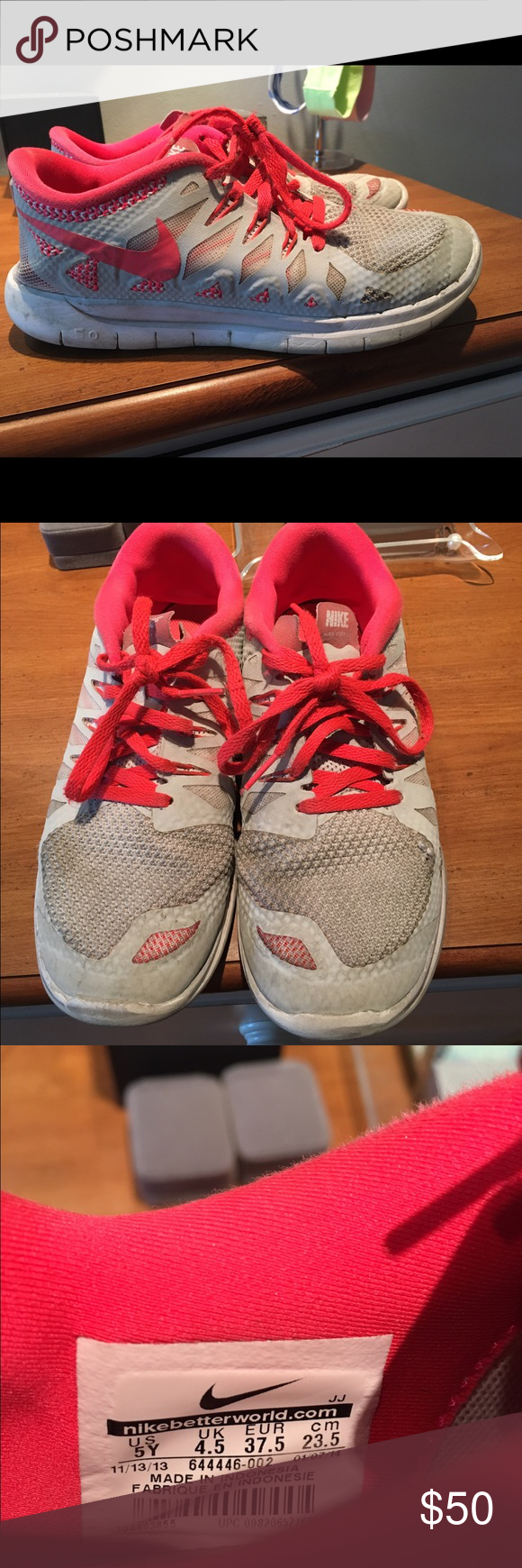 ... Force 1 Unisex Youth pre order  004f0 8c525 Nike tennis shoes. Gently  used. Perfect condition. Comfortable tennis shoes. 66156c1aa
