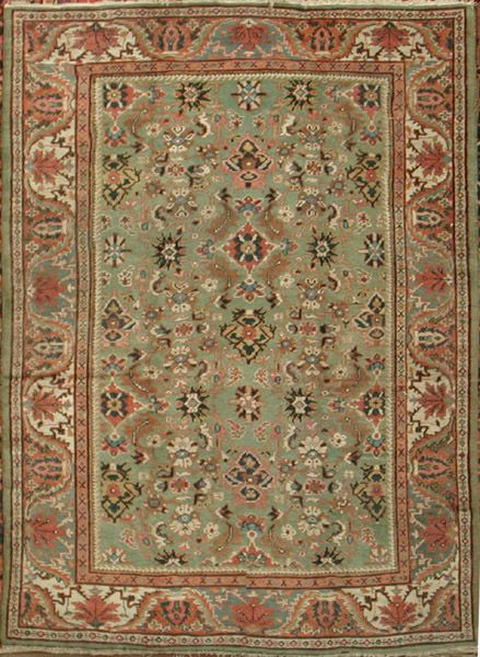 Antique Sultanabad Rug from Iran