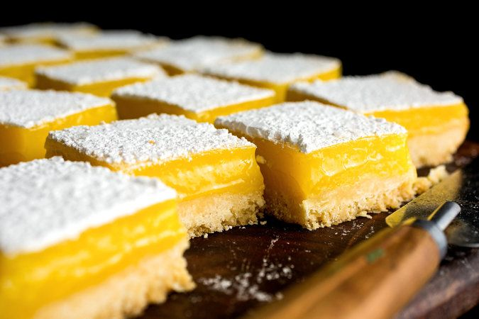 Lemon Bars With a Touch of the Tart and the Tangy - The New York Times