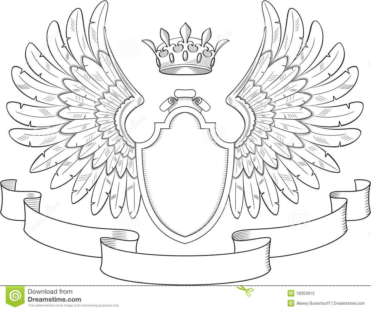Blank Coat Of Arms Template Printable