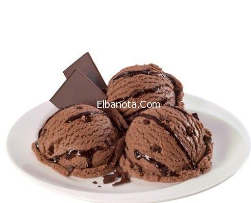 مقادير آيس كريم الشوكولاتة طريقة الايس كريم بالشوكولاته سهلة حلويات مطبخ بنوته عالم المرأة ب Homemade Ice Cream Chocolate Ice Cream Homemade Chocolate