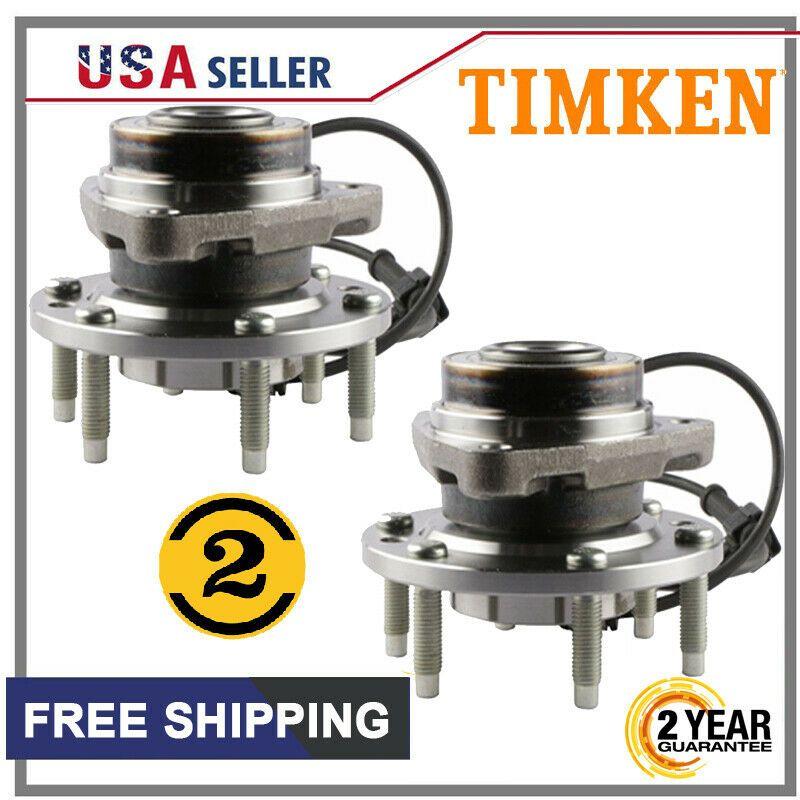Advertisement Ebay Front Wheel Bearing Hub Assembly 2x Timken