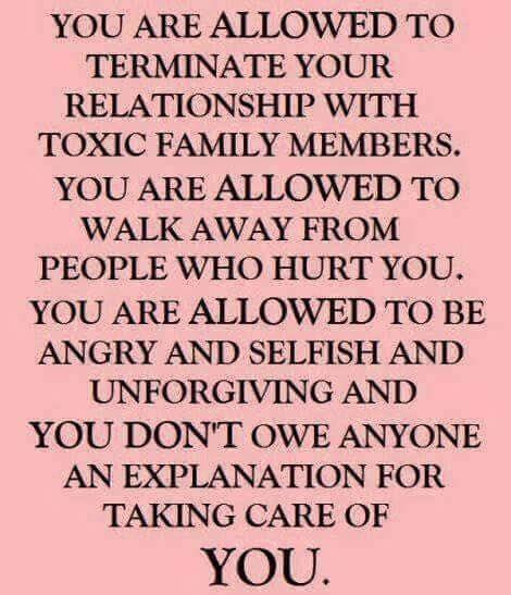 Especially Toxic Family Members M U S I N G S Pinterest Toxic