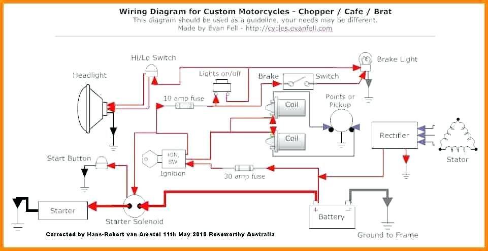 Wiring Diagram Of Motorcycle Honda Xrm 110 Bookingritzcarlton Info Motorcycle Wiring Cafe Racer Build Rat Bike
