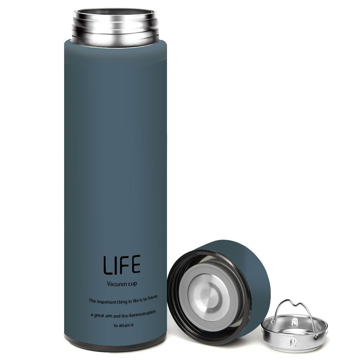 King do way insulated stainless steel water vacuum bottle coffee