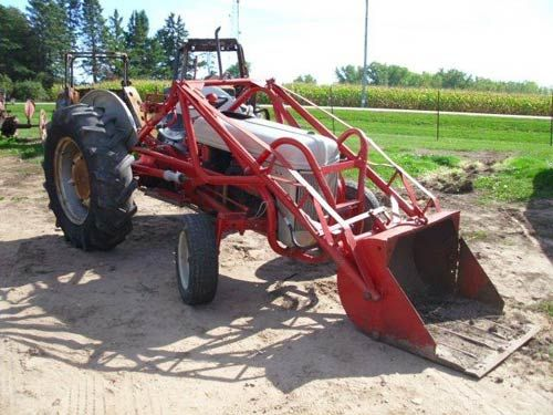 Ford 9n Tractor Parts Salvage With Bucket Loader Tractors