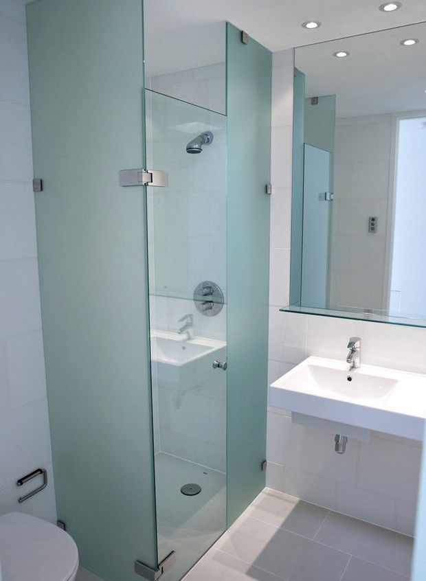 Single Stall Shower Small Bathroom Design Ideas | Small Bathroom ...