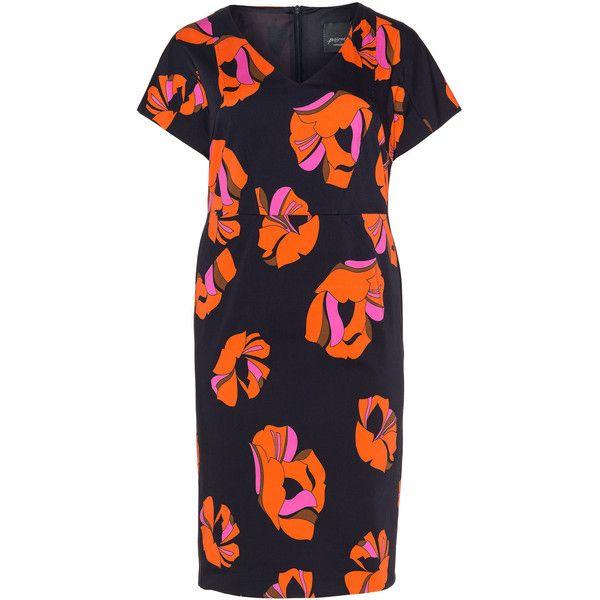 Dark Orange Plus Size Dresses