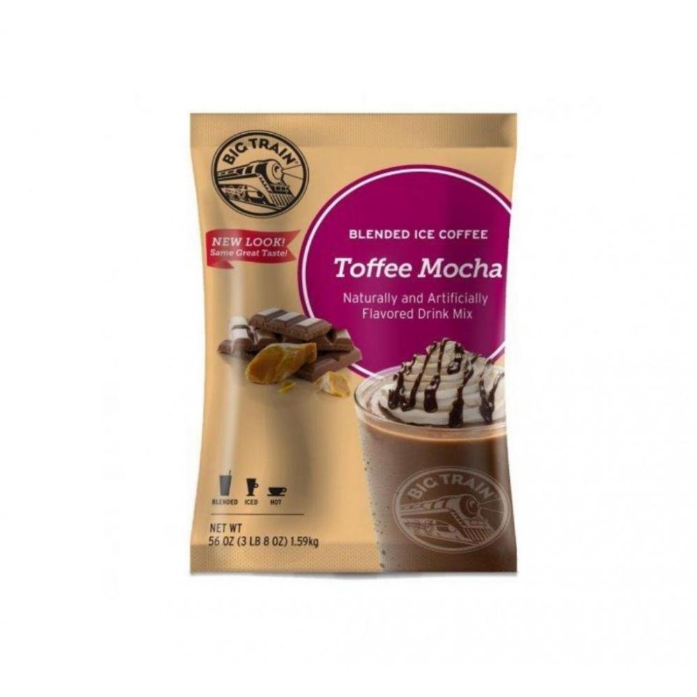 الموكا مع التوفي المثلجة Toffee Blended Ice Coffee Coffee