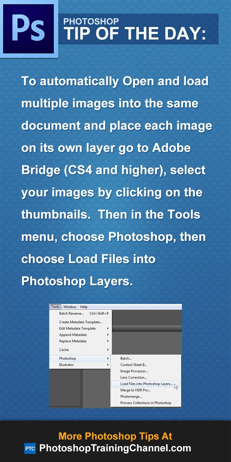 Open Multiple Images As Layers