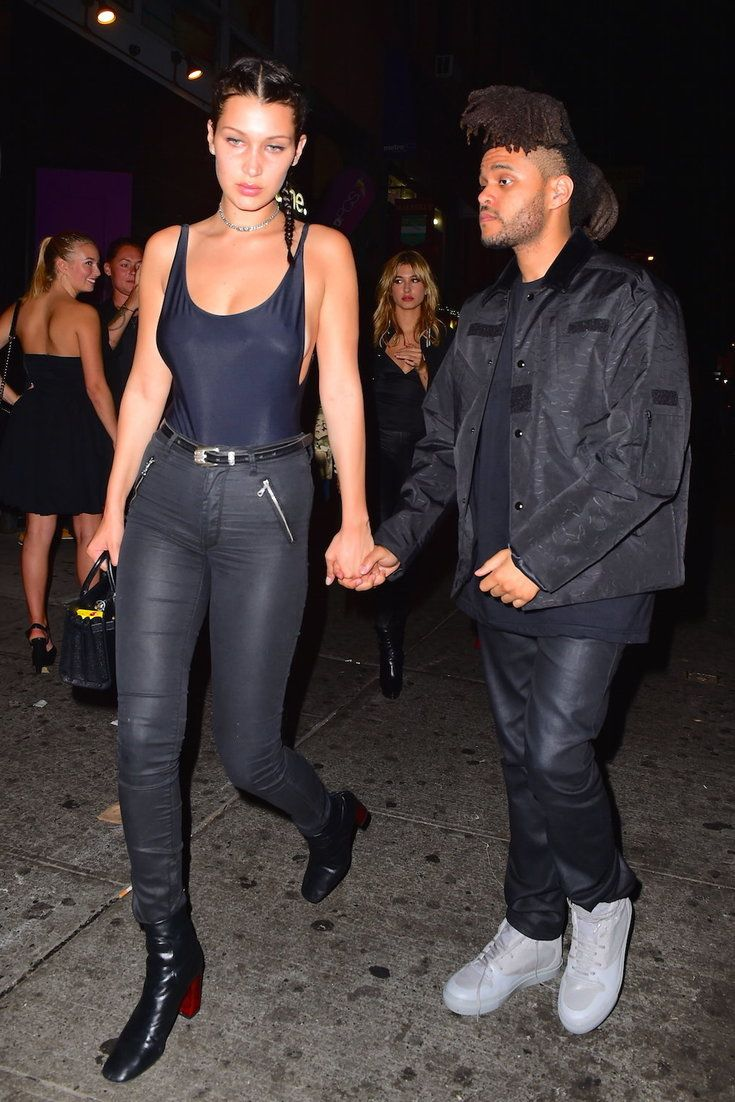 Weekend dating bella hadid