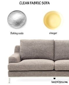 Cloth Sofa Cleaning Products Muji Wide Arm Review How To Clean Fabric Carpet Hacks House Even If You Take The Best Precautions Sofas Tend Get Dirty Attract Dirt And Dust Like Magnet Thanks Threads That