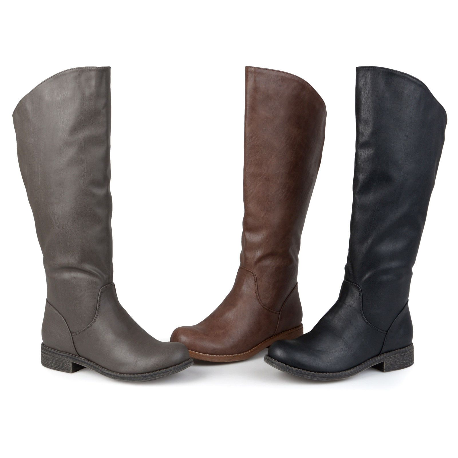 788cd07d2b93 Journee Collection Womens Wide Calf Knee High Riding Boots New ...