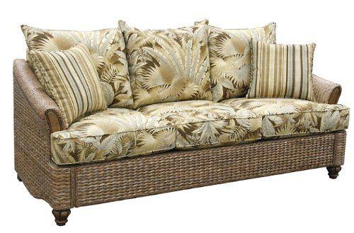 Indoor All Natural Wicker And Rattan Queen Sleeper Sofa American Http